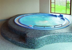 spa masāžas baseini